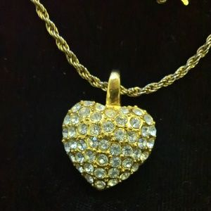 Jewelry - Puffy Crystal Necklace
